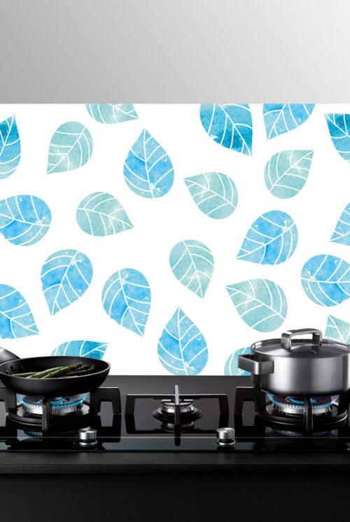 Paraschizzi in vetro con decoro digitale xl per piano cottura e lavello - Paraschizzi cucina vetro ...
