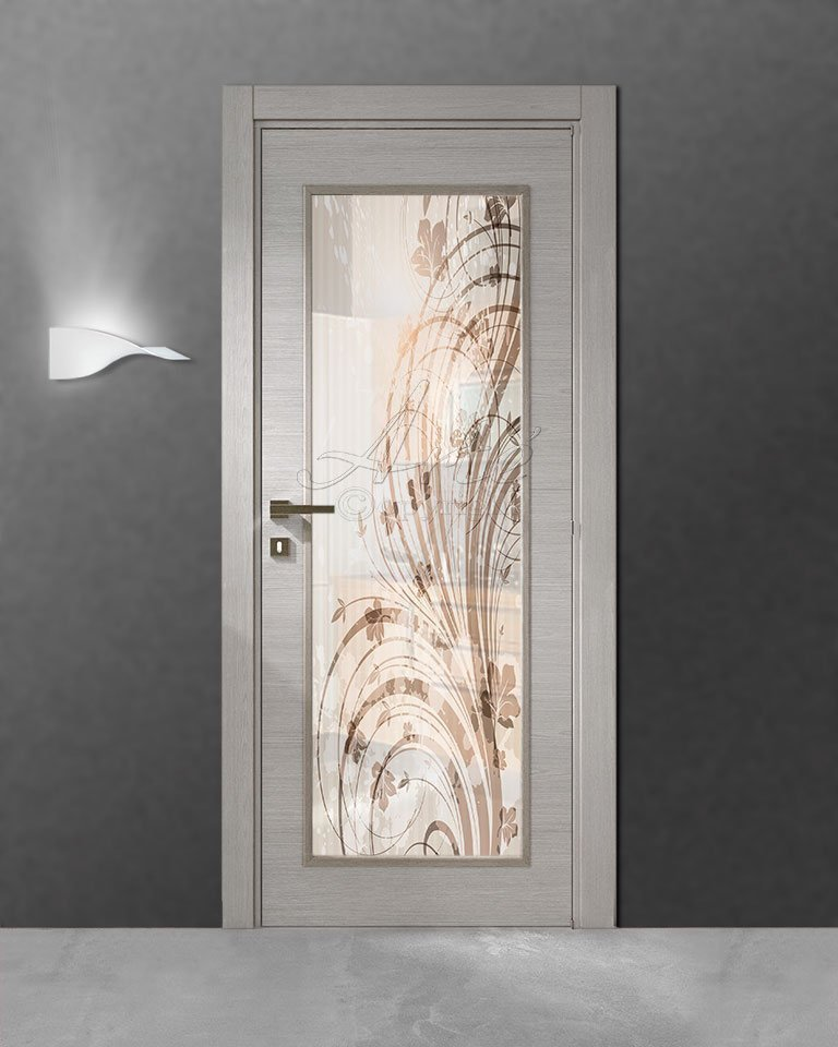 Vetro per porte interne stampa digitale su vetro vetri - Vetro per porta interna ...
