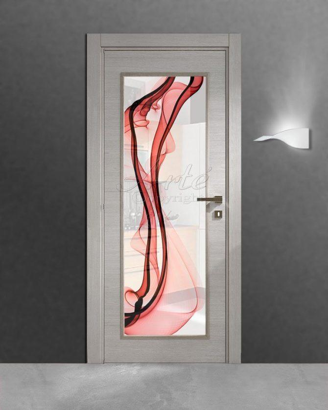 Vetro per porte interne