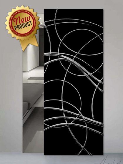 Porte in vetro luxury chromo
